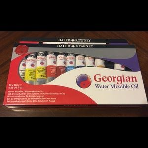 Daler-Rowney Georgian Water Mixable Oil, Intro Set